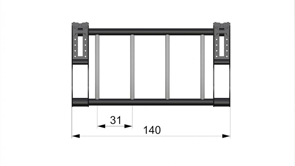 OR 16017 - Side Sky Gym Ladder top quotes