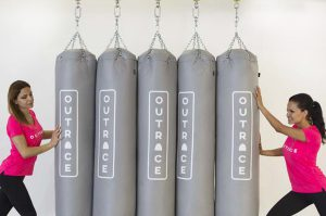 punching bag storage