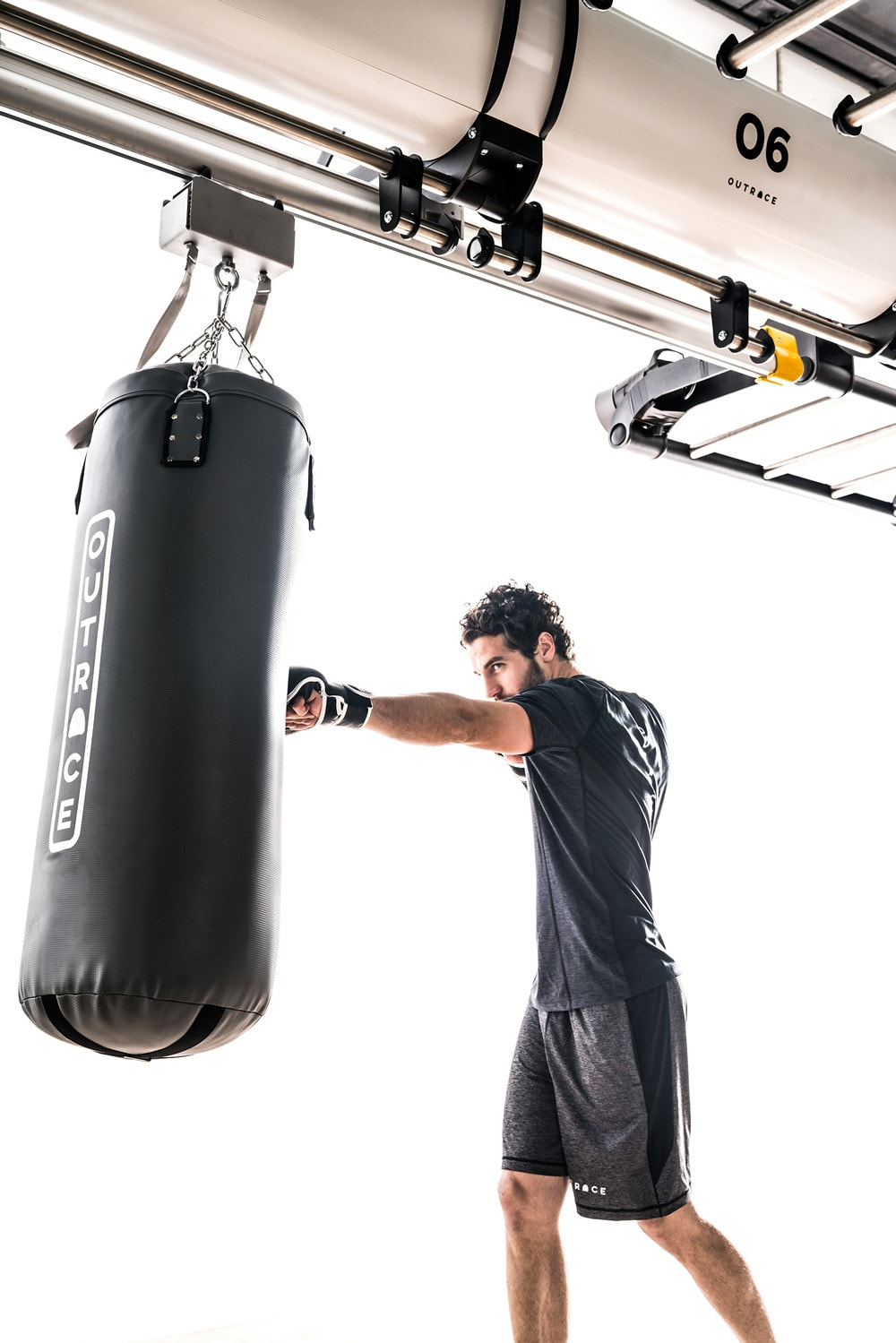 Punching Bag Cylindrical Shape For High Intensity Use